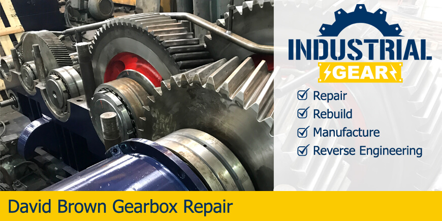 david brown gearbox repair rebuild manufacture